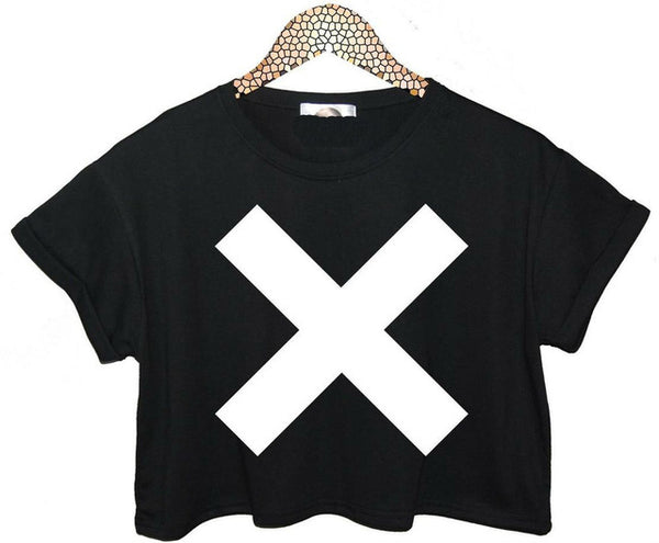 X Crop Top - SnackBarShop