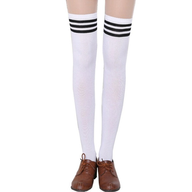 Sporty Spice Thigh High Socks - SnackBarShop