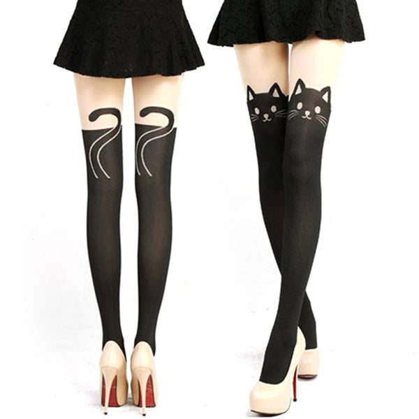 Cat Lady Stockings