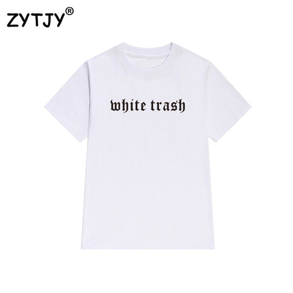 White Trash Tee - SnackBarShop