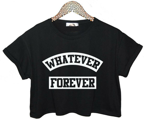 Whatever Forever Crop Top - SnackBarShop