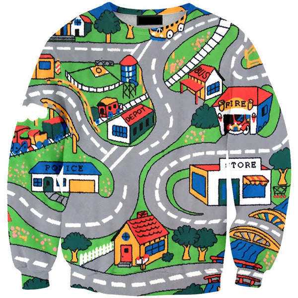 Mini Town Sweater - SnackBarShop