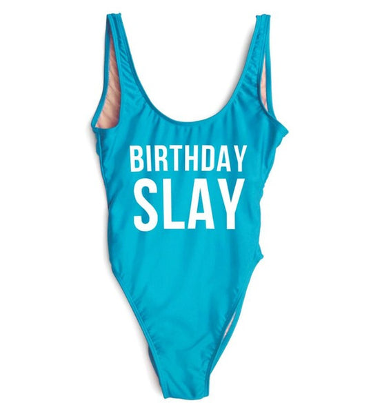 Birthday Slay Bodysuit - SnackBarShop