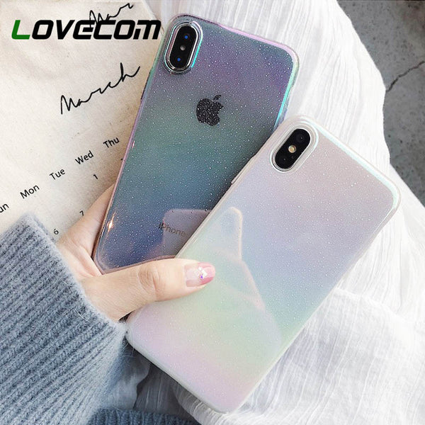 Gradient Rainbow iPhone Case - SnackBarShop