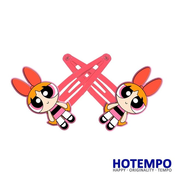 Powerpuff Girls Hair Clips - SnackBarShop