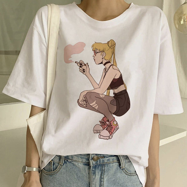 Sailor Moon Thug Tee - SnackBarShop