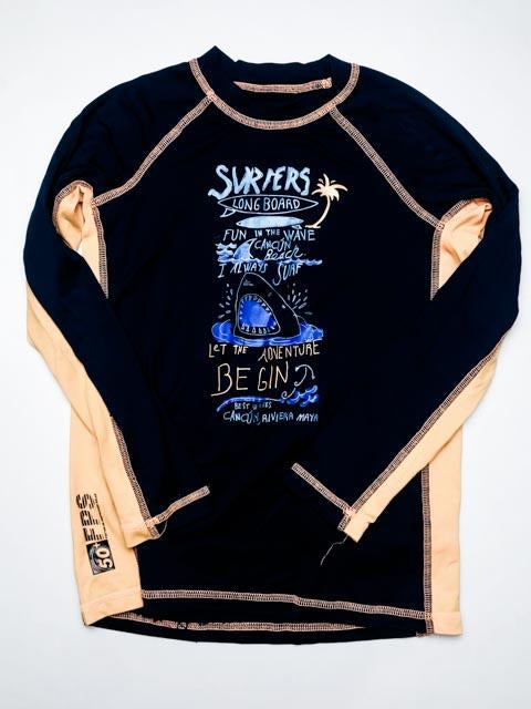 Pier 27 rash guard - large (11-14)