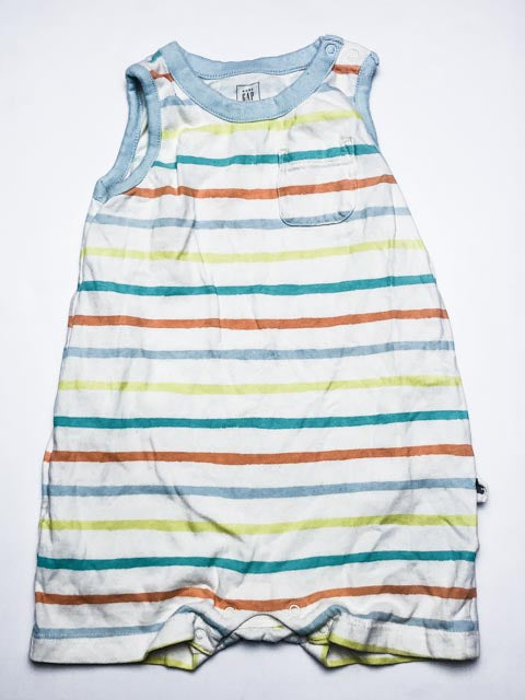 Gap Organically Grown short romper 12-18m