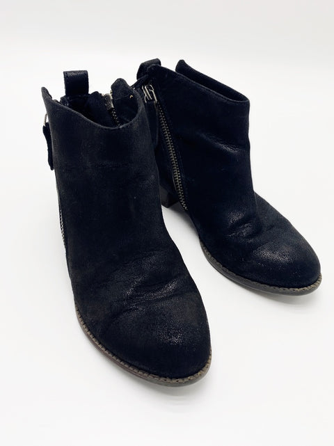 Dolce Vita black booties youth size 1