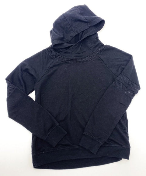 Beyond Yoga black hooded shirt size 8-10 (approx)