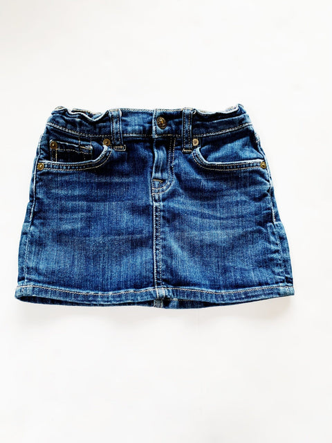 7 for All Mankind Jean skirt size 6