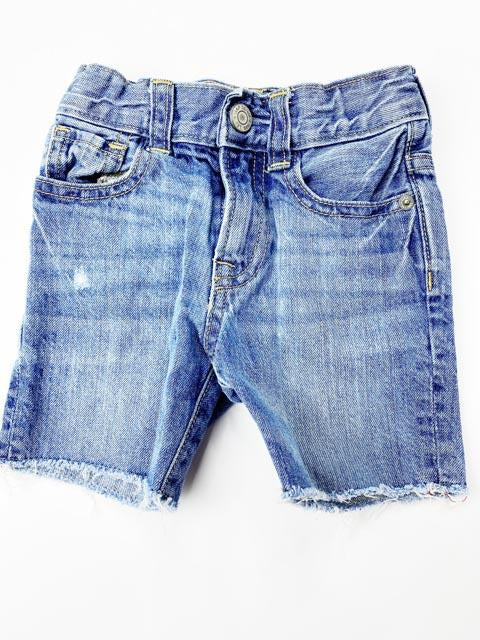 Gap denim cutoff shorts 18-24m