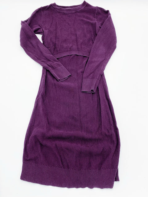 Boob knit nursing dress - x-small