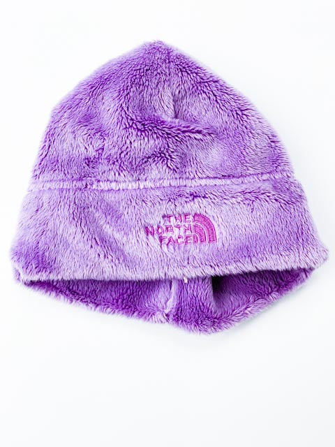 North Face fleece beanie 0-6m