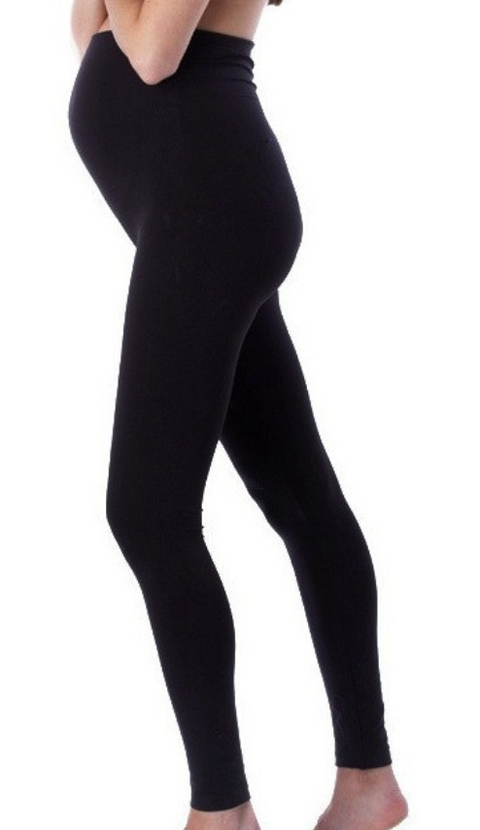 Seraphine black maternity leggings - large/x-large