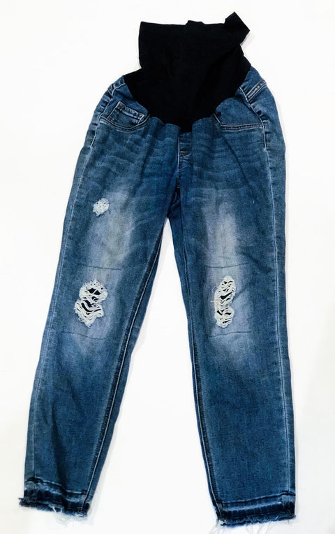 A Pea in the Pod distressed maternity jeans - medium-Fresh Kids Inc.