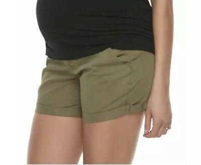 A Pea in the Pod shorts army green - medium