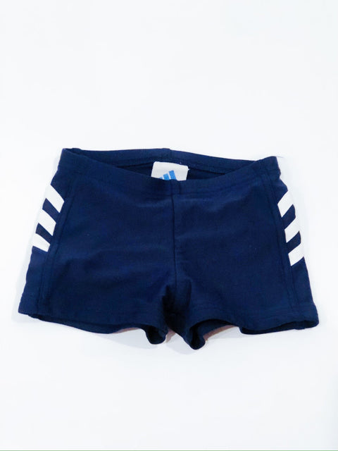 Adidas swim shorts navy size 4