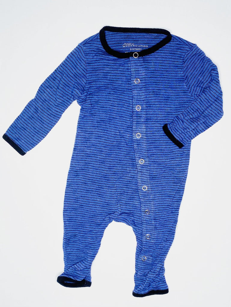 Baby Goosebumps bamboo romper 3-6m-Fresh Kids Inc.