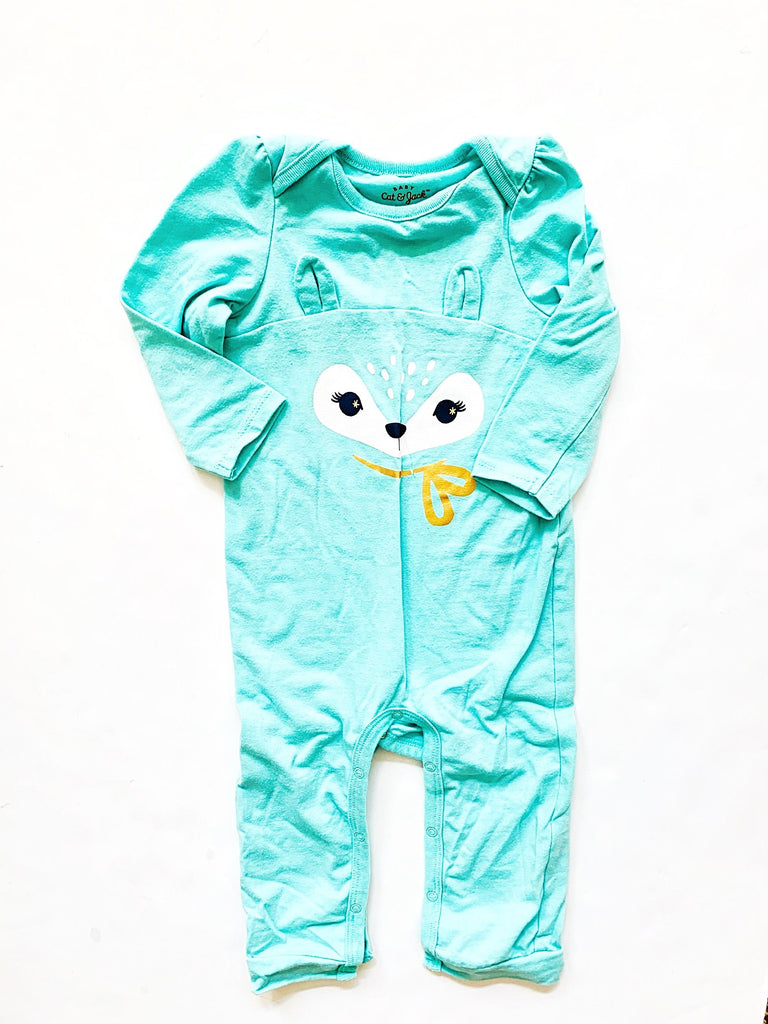 Cat & Jack romper size 12m-Fresh Kids Inc.