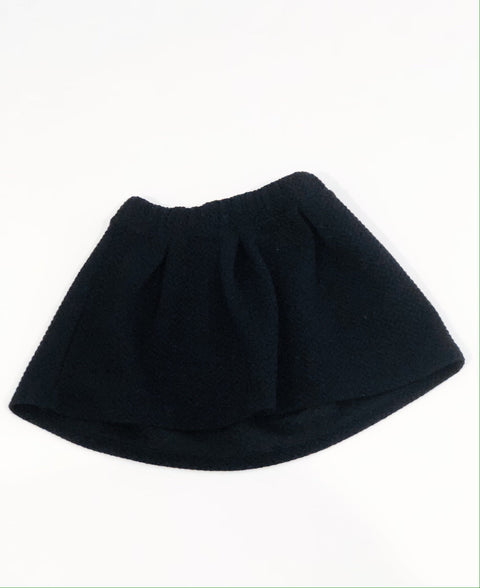 Cat & Jack skirt - black quilted - size 6-Fresh Kids Inc.