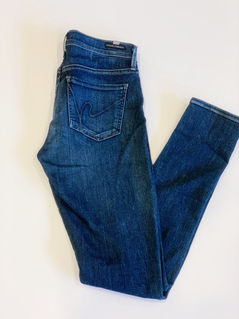 "Citizens of Humanity Maternity ""Aveden"" Jeans size 28"
