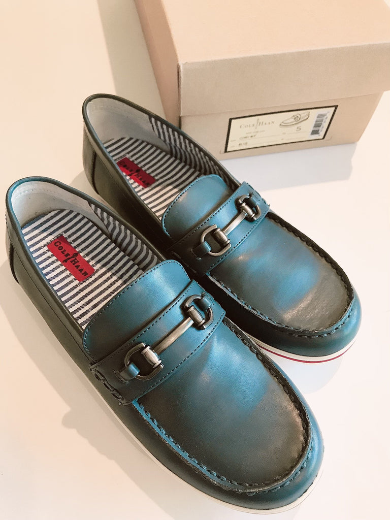 Cole Haan slip ons 5 US-Fresh Kids Inc.