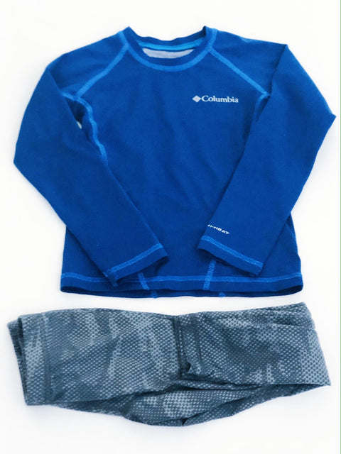 Columbia base layer top & bottom size 4-5-Fresh Kids Inc.