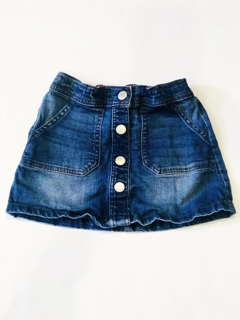 Cotton on Kids denim skirt size 5