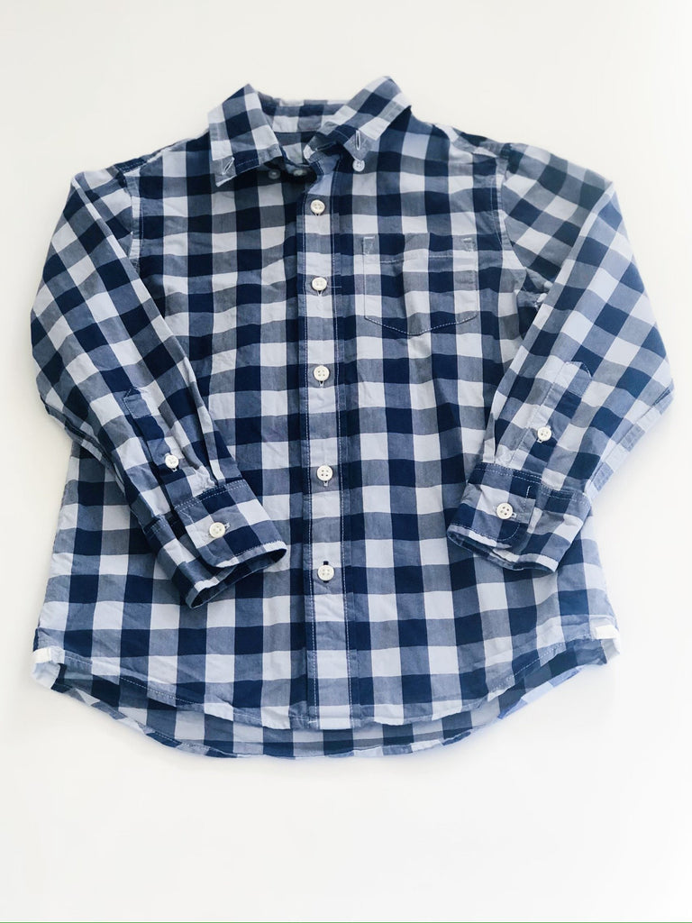 Crewcuts button-up size 4-5-Fresh Kids Inc.