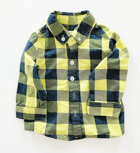 Deux Par Deux button-up top 6m-Fresh Kids Inc.