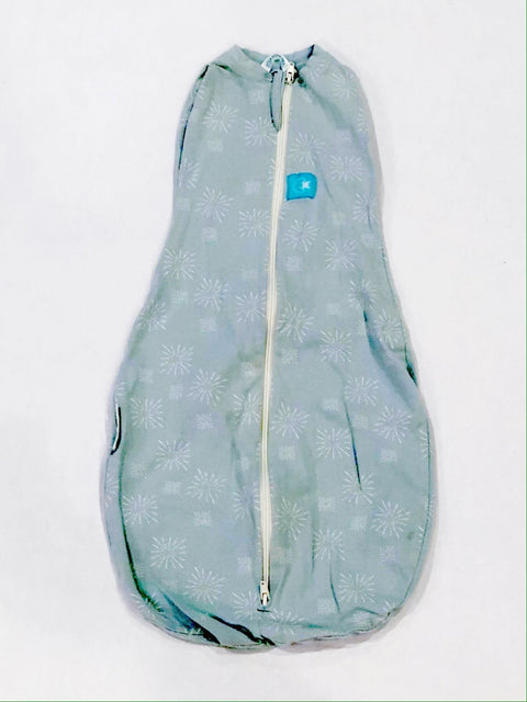Ergo Cocoon 0-3m light green/blue-Fresh Kids Inc.