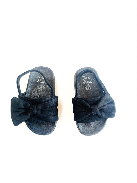 First Steps sandals size 4-Fresh Kids Inc.