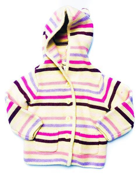 Gap bear leader striped cardigan 12-18m-Fresh Kids Inc.