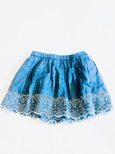 Gap chambray skirt size 6-7