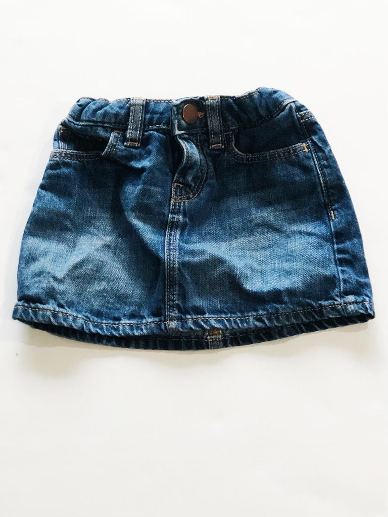 Gap denim skirt size 2-Fresh Kids Inc.
