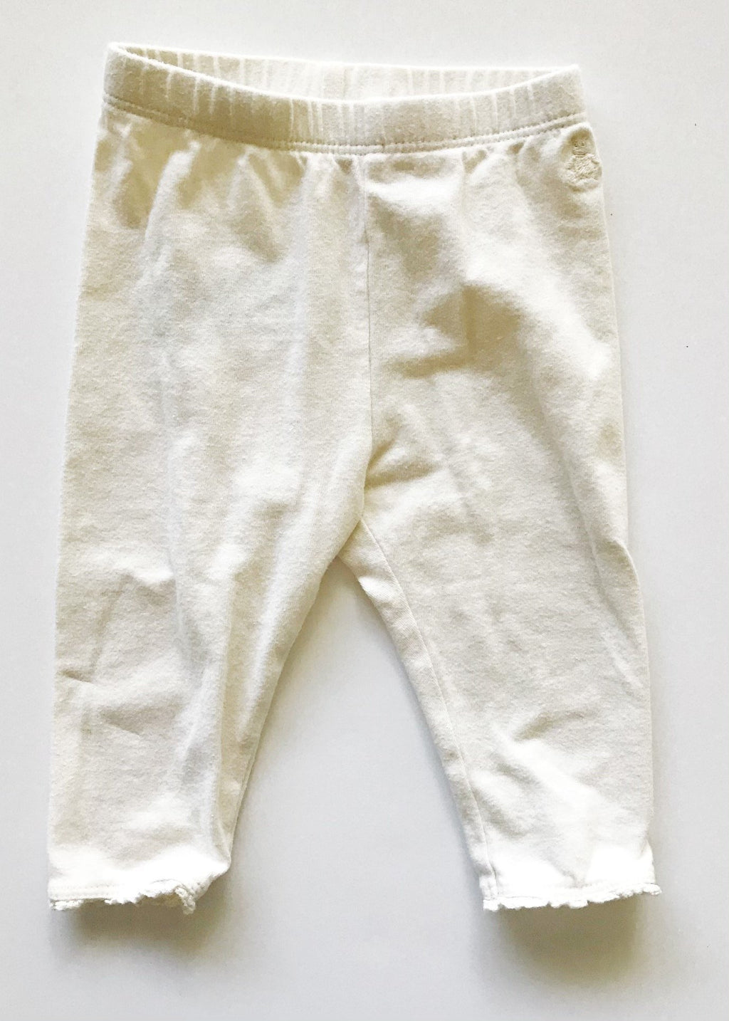 Gap for Good leggings ivory 12-18m