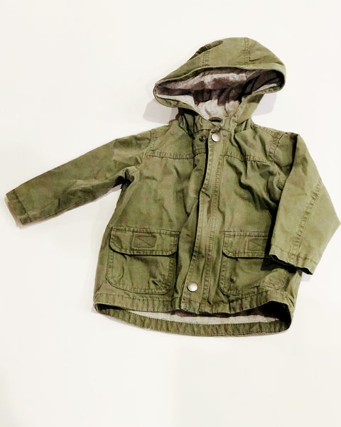 Gap jacket lined 12-18m