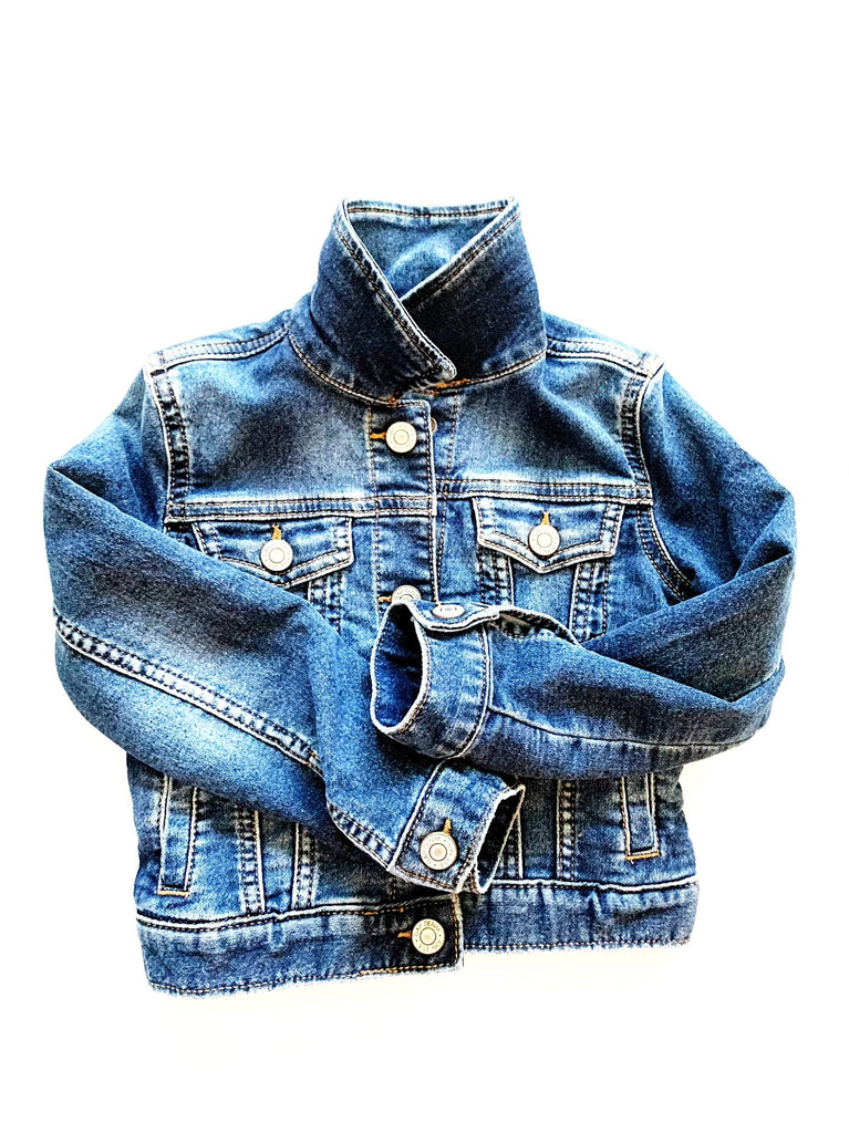 Gap jean jacket size xs 4-5-Fresh Kids Inc.