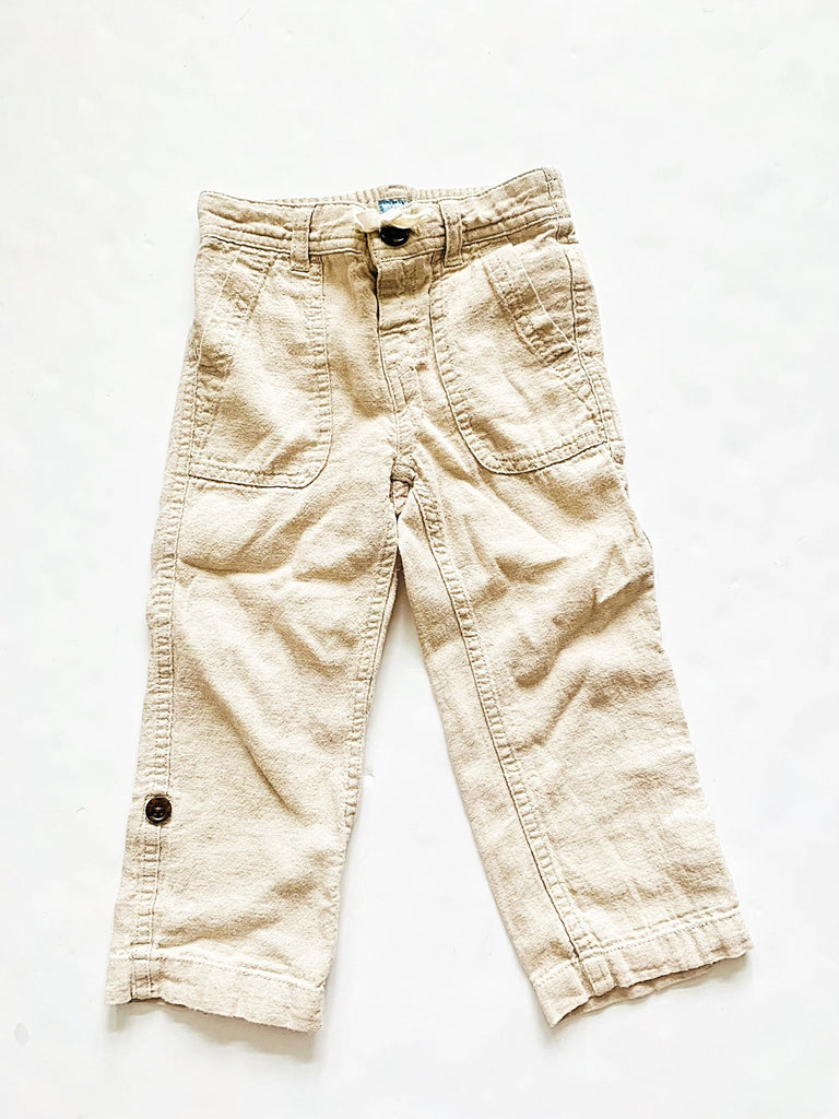 Gap linen pants size 3-Fresh Kids Inc.