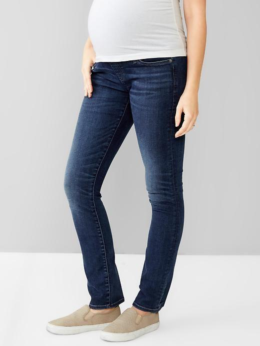 Gap Maternity resolution slim straight jeans - size 0R (xs)