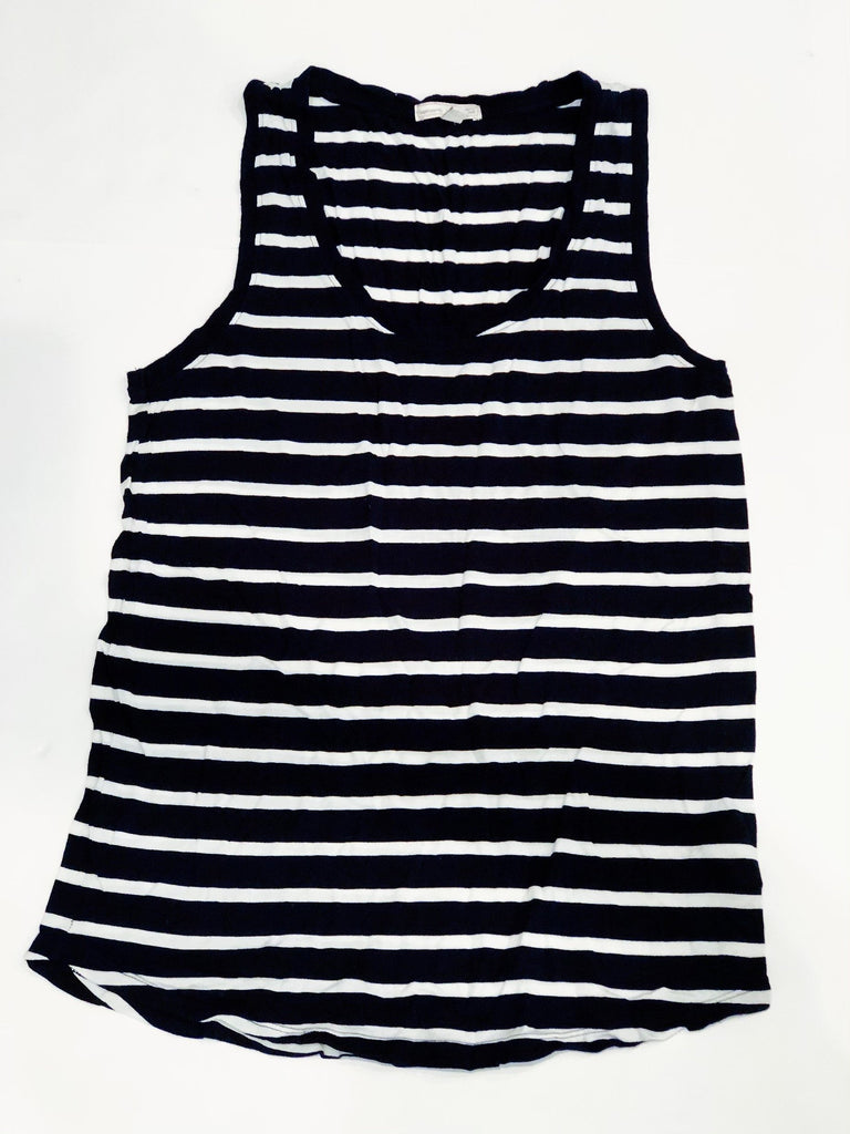 Gap Maternity tank navy & white stripe - medium