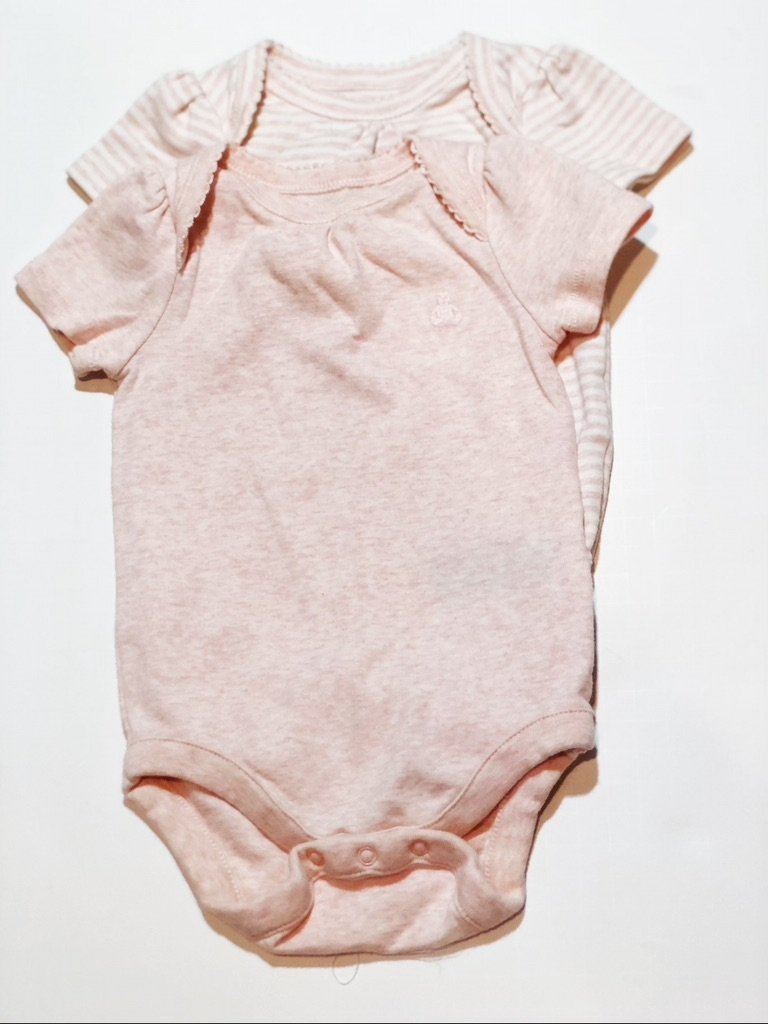 Gap onesies short sleeve (x2) 3-6m-Fresh Kids Inc.