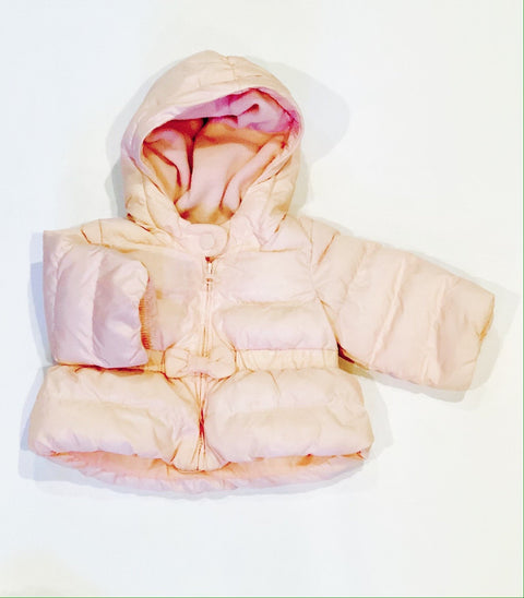 Gap puffer fleece-lined 0-6m
