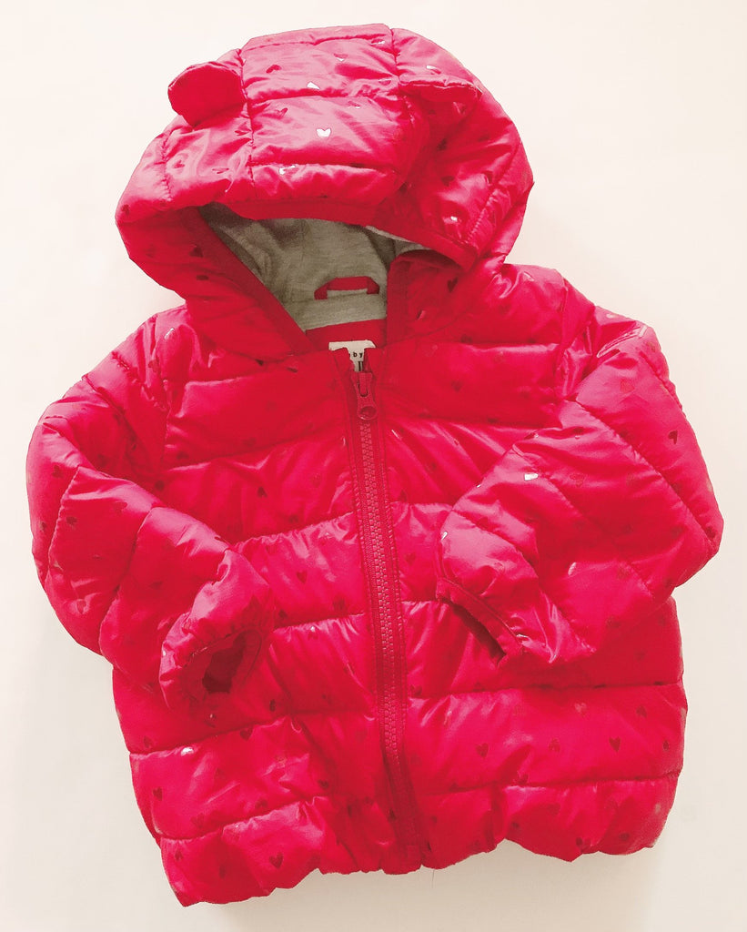 Gap puffy jacket 12-18 m-Fresh Kids Inc.