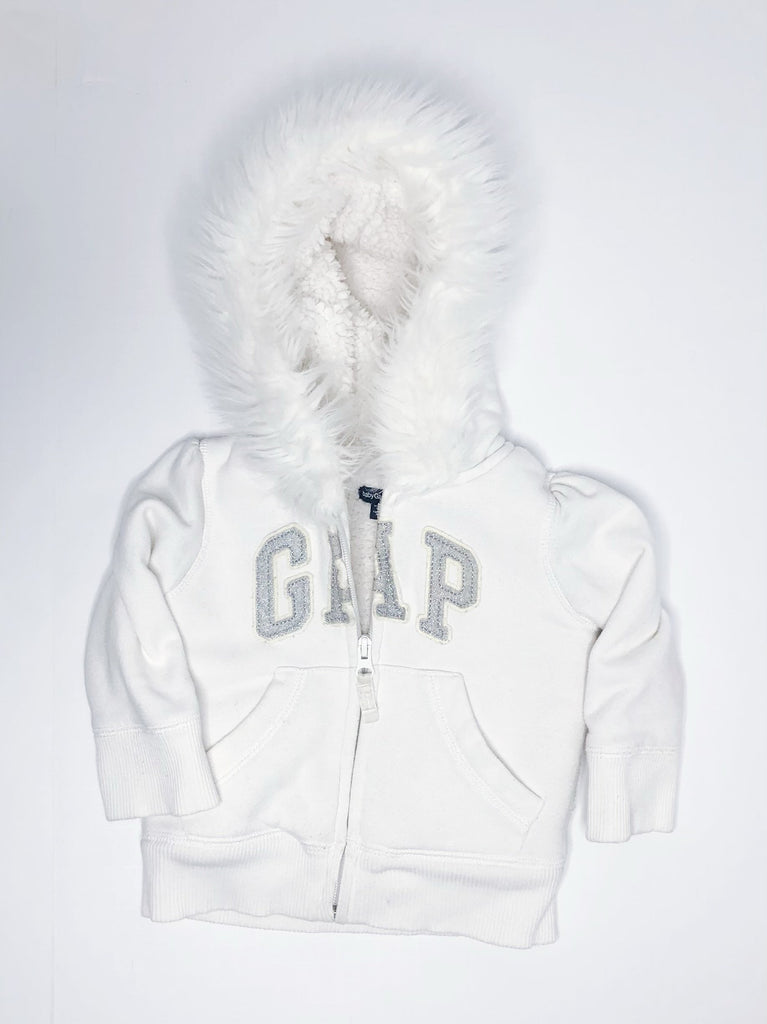Gap Sherpa lined hoodie 12/18m-Fresh Kids Inc.