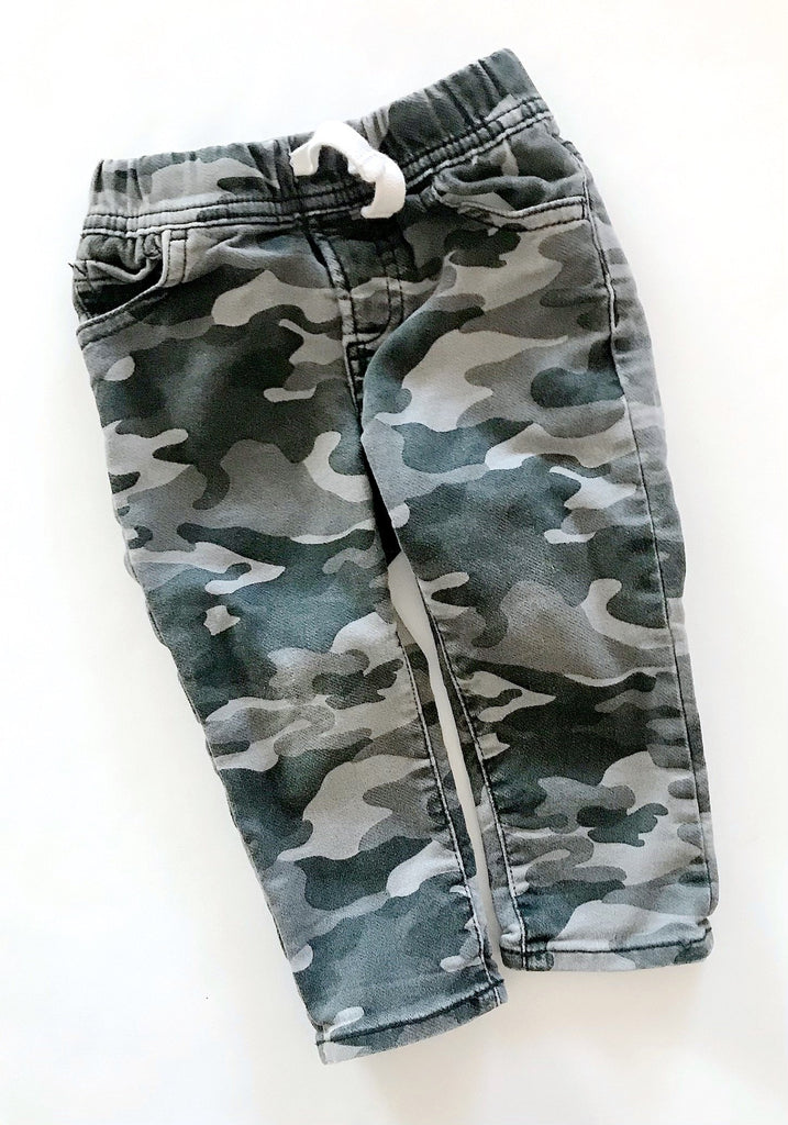 Gap skinny cargo pants 18-24m-Fresh Kids Inc.