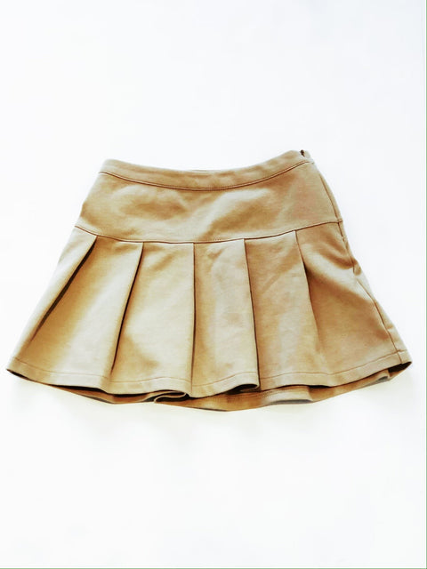 Gap skirt khaki uniform - small (6-7)