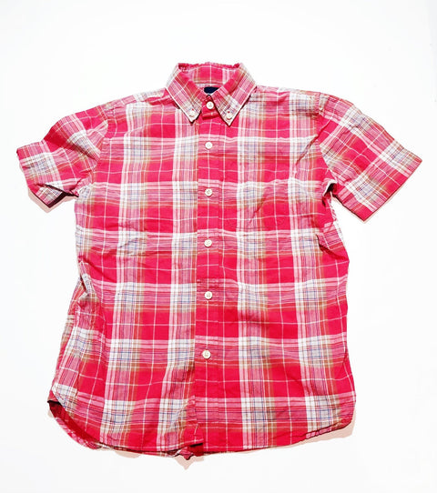Gap top - short sleeve button-up - size L (10)