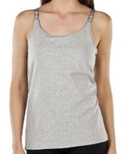 Gillian O'malley grey nursing cami tank size M-Fresh Kids Inc.